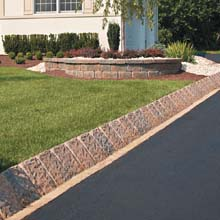 Country Manor Curb Stone