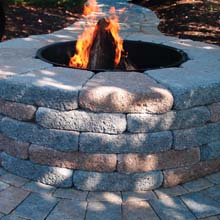 Country Manor Fire Pit Kit